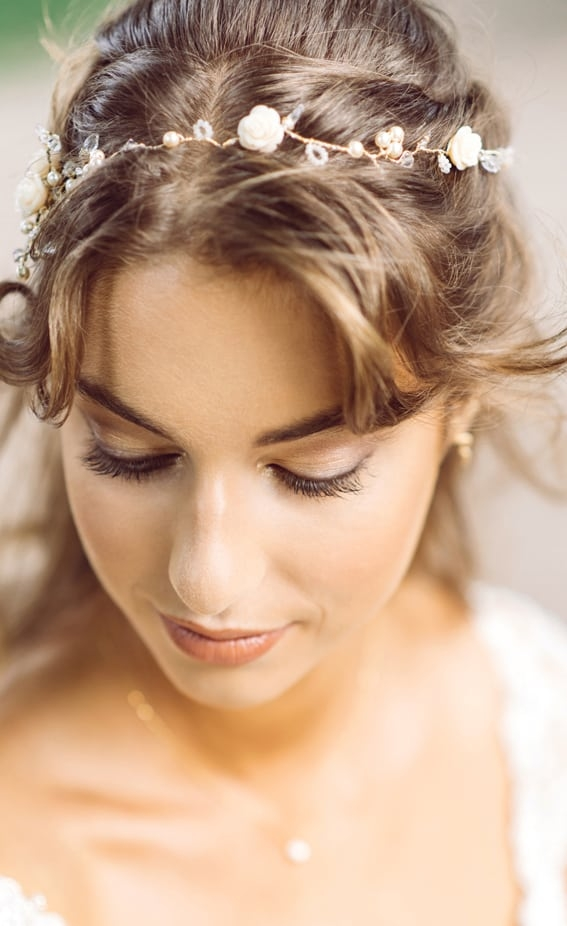 wedding hair and makeup by wedding hair and makeup artist Alice
