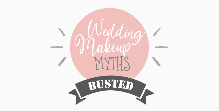 Wedding Makeup Myths Busted – My First Infographic.