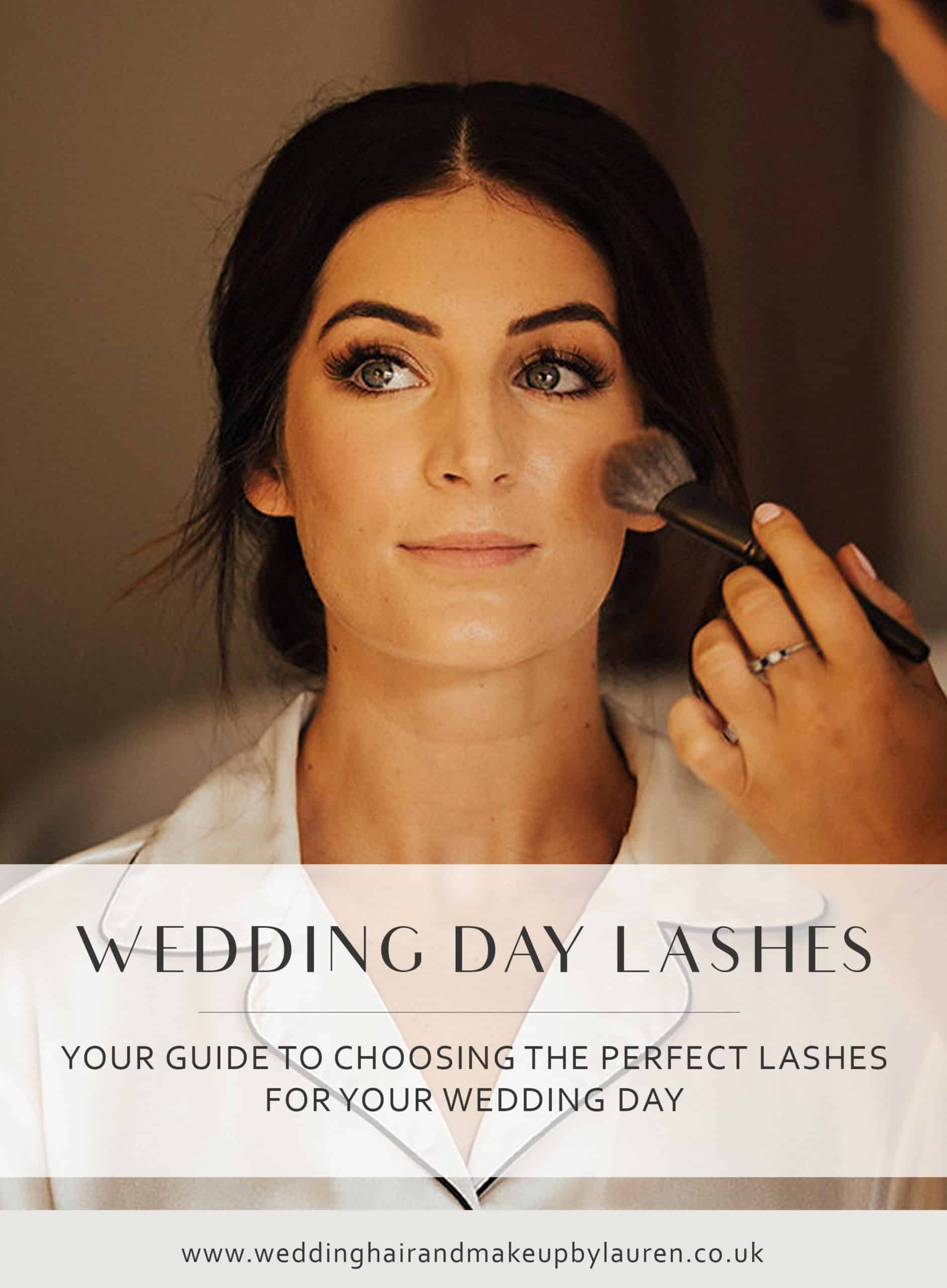 Your Guide To Choosing Your Perfect Wedding Day Lashes
